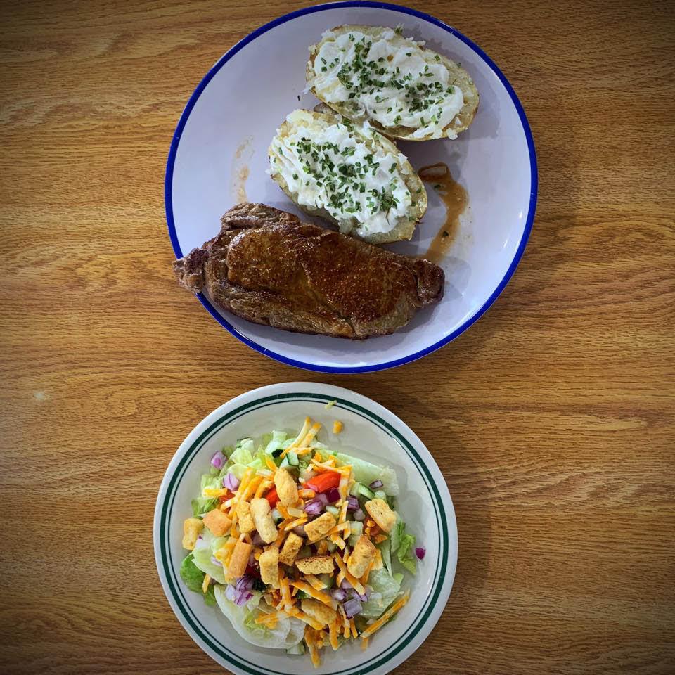 quick serve steak lunch dinner