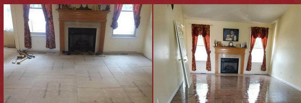 Before and After look for Dalton Flooring Center in Southgate, MI