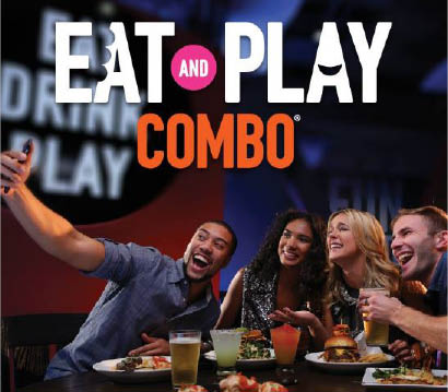 dave & buster's restaurant Eat and play combo