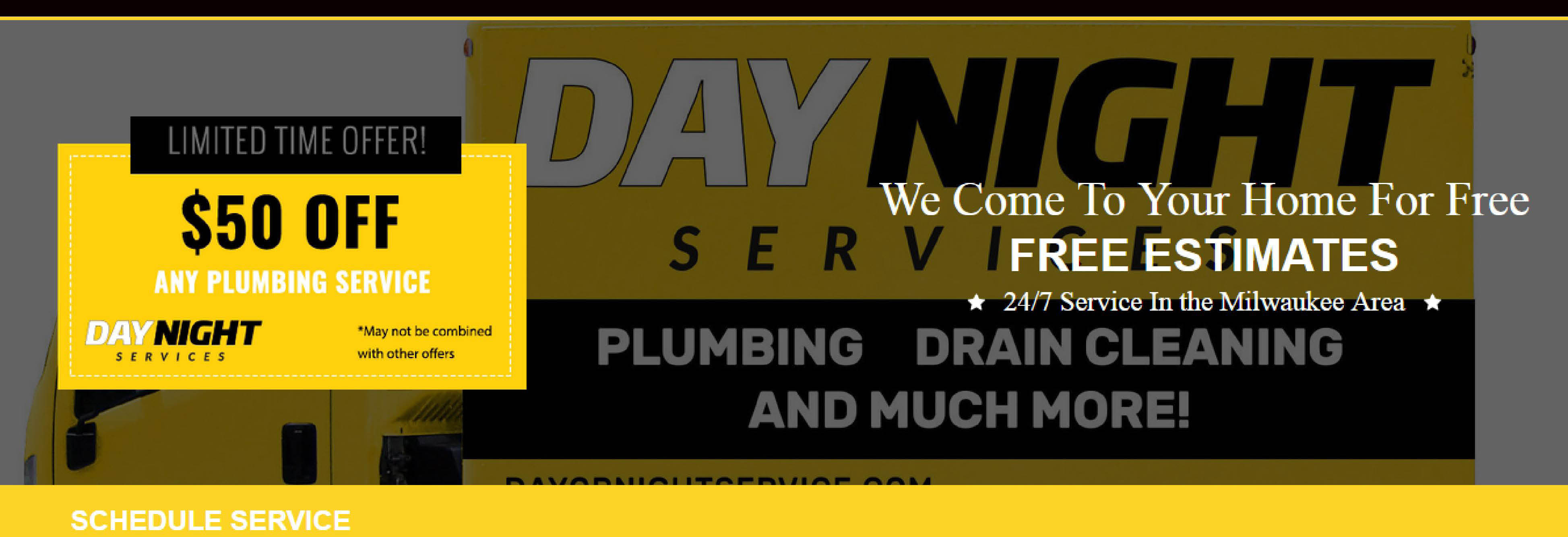 DayNight Services Milwaukee, Greenfield, West Allis banner