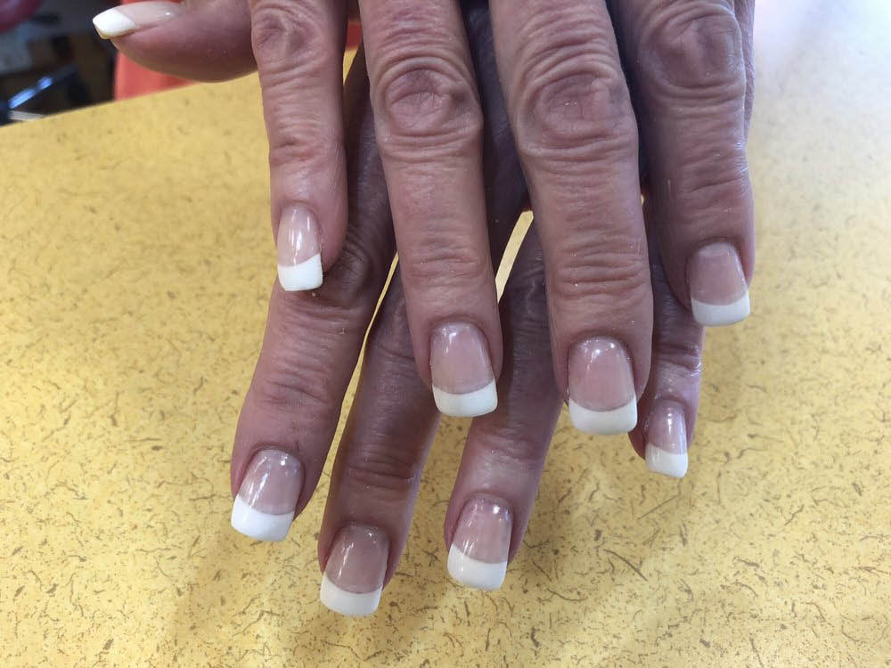 White Nails from Days by Nails in East Hanover, NJ