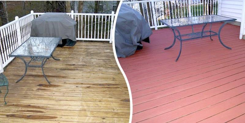 Restore and seal a deck in Maryland
