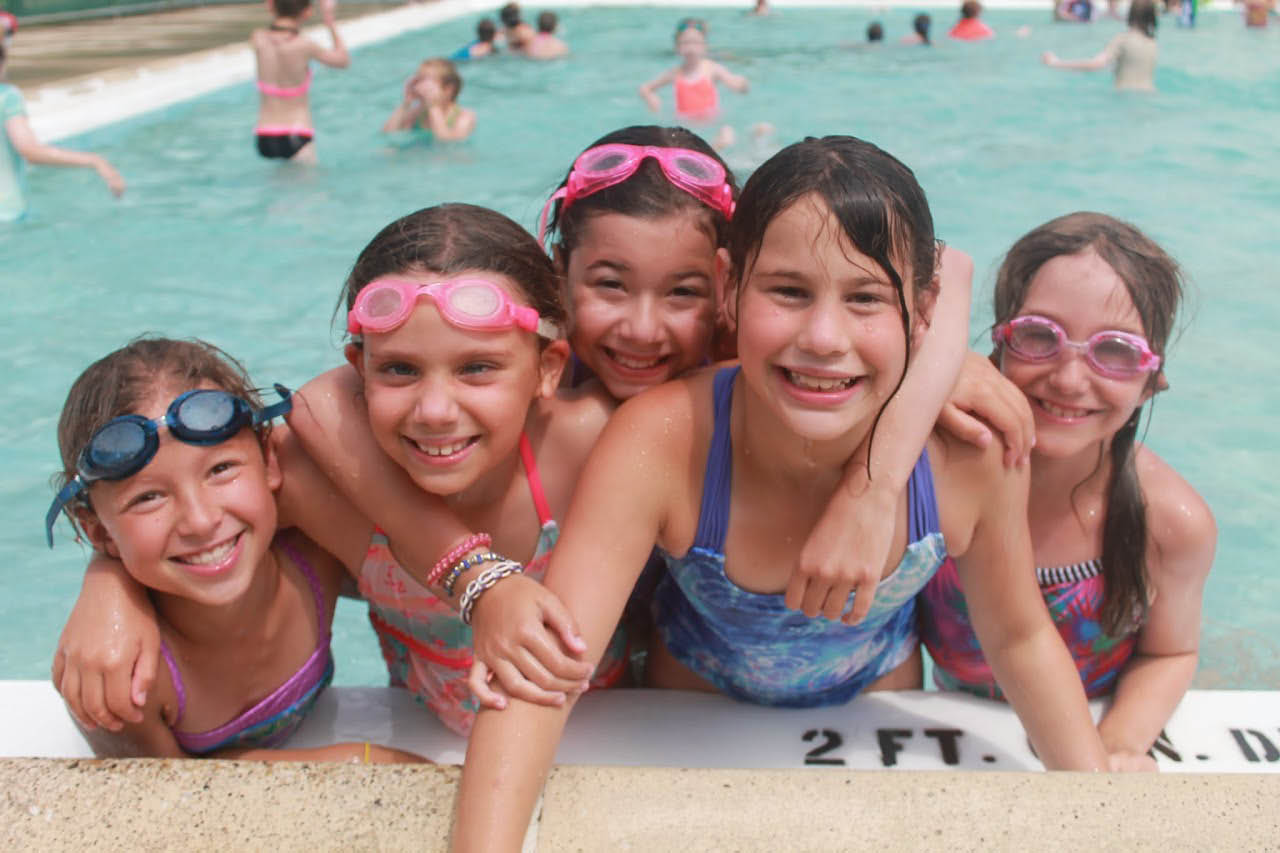 We offer swimming and other activities at our summer camp.