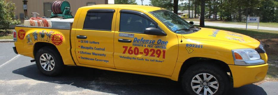Defense One Termite & Pest Control in N. Charleston, SC Banner ad