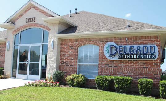 delgado front of building