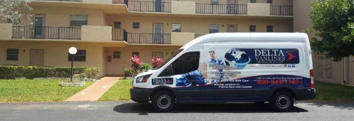 Delta Van Lines in Orlando, FL banner ad