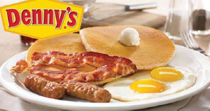 Enjoy a nice hot breakfast at Denny's East Brunswick.