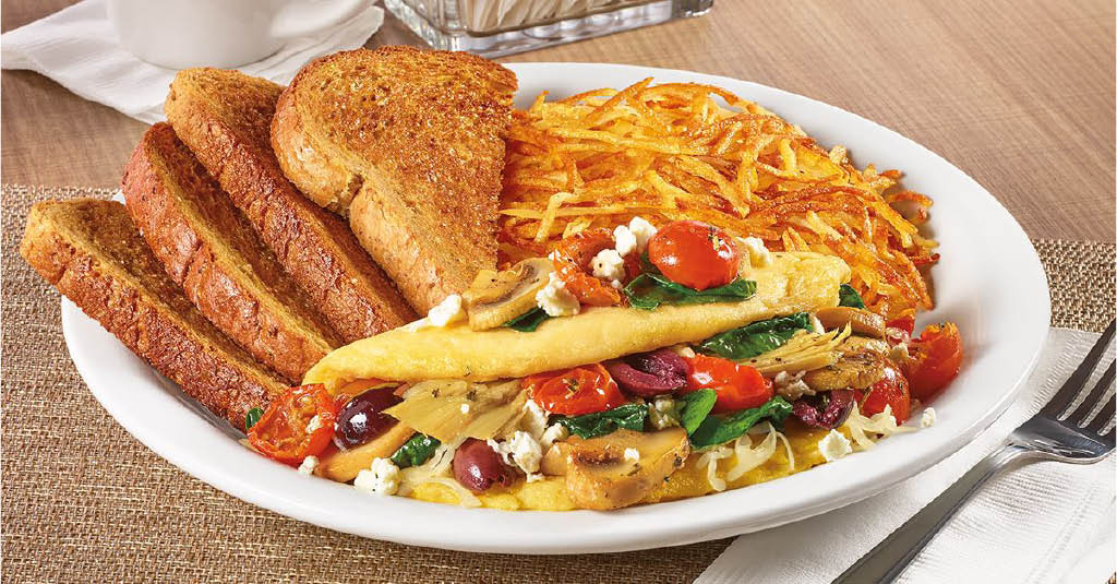 Build your own omelette at Denny's in Thousand Oaks CA