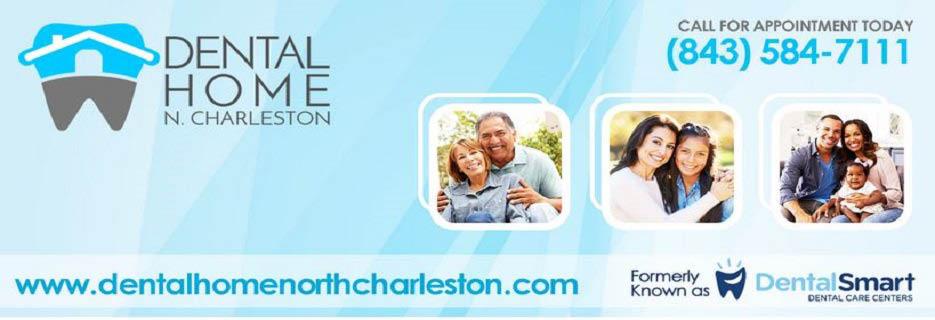Dental Home in North Charleston & Bluffton, SC Banner Ad