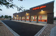 Brakes Plus auto repair shop storefront