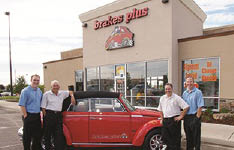 Brakes Plus family owned and operate car repair service center