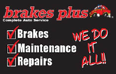 We do it all logo for auto repair, maintenance and brakes