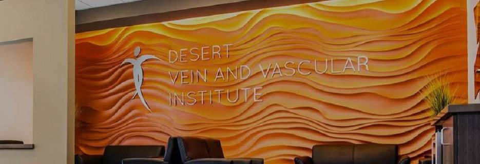 Desert Vein & Vascular Institute in Rancho Mirage, CA banner ad