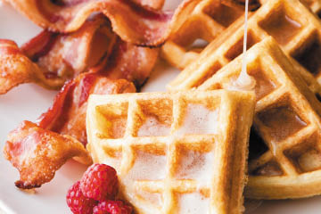 Detour American Grille & Bar, Fishers, IN Waffles