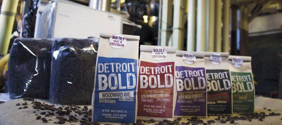 Picture of different blends of Detroit Bold Coffee in Hazel Park, MI