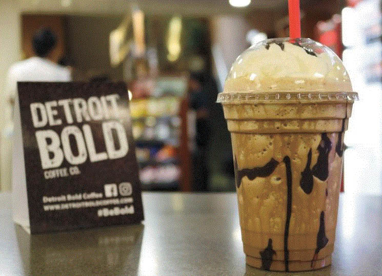Picture of a Frappuccino with Detroit Bold Coffee in Hazel Park, MI