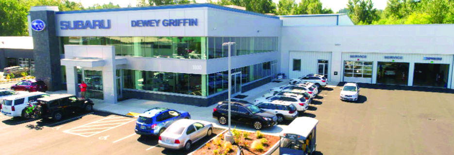 Dewey Griffin Subaru Bellingham car auto service maintenance repair center