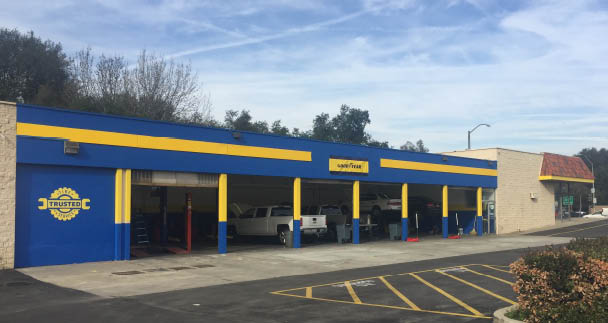Trusted Tire and Service storefront in Diamond Bar, CA