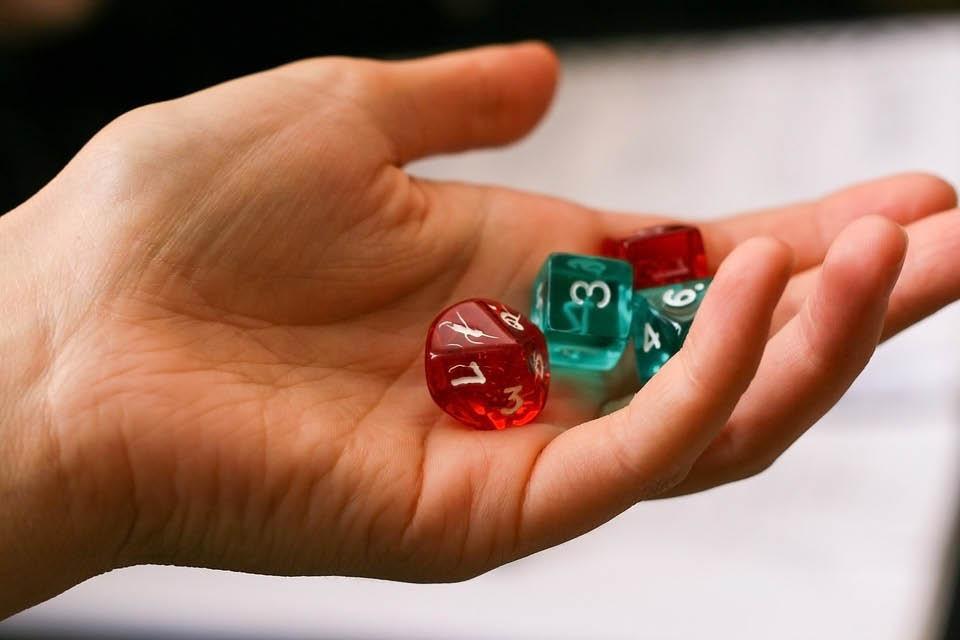 game night family fun dice