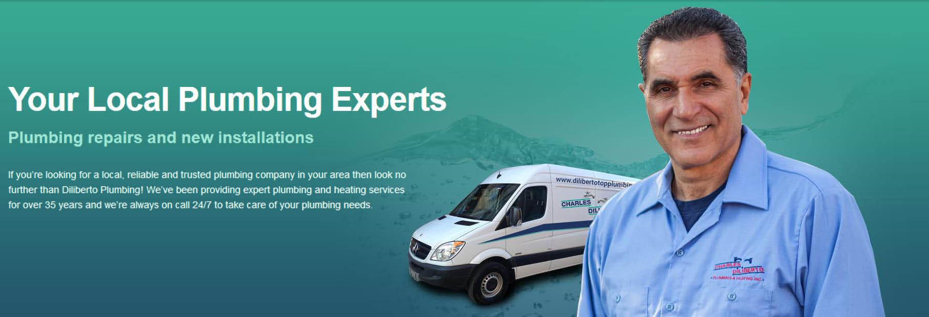 charles diliberto plumbing,plumbing repairs,water repair,leaks,Pennsylvania plumbing,