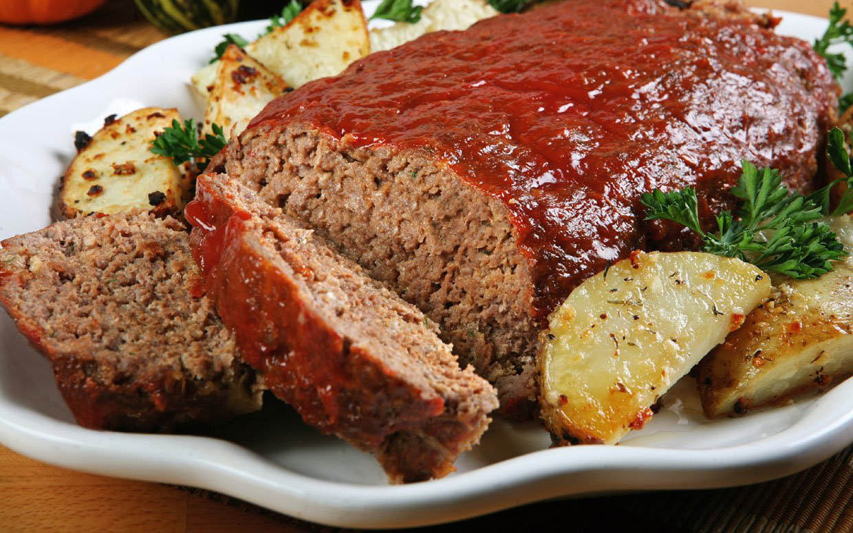 Magnificent meatloaf - take home an order for a   lunch sandwich
