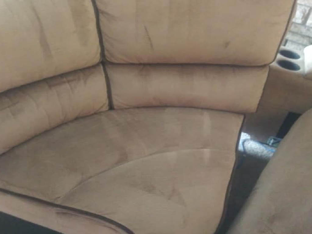 Dirt Busters upholstery cleaning