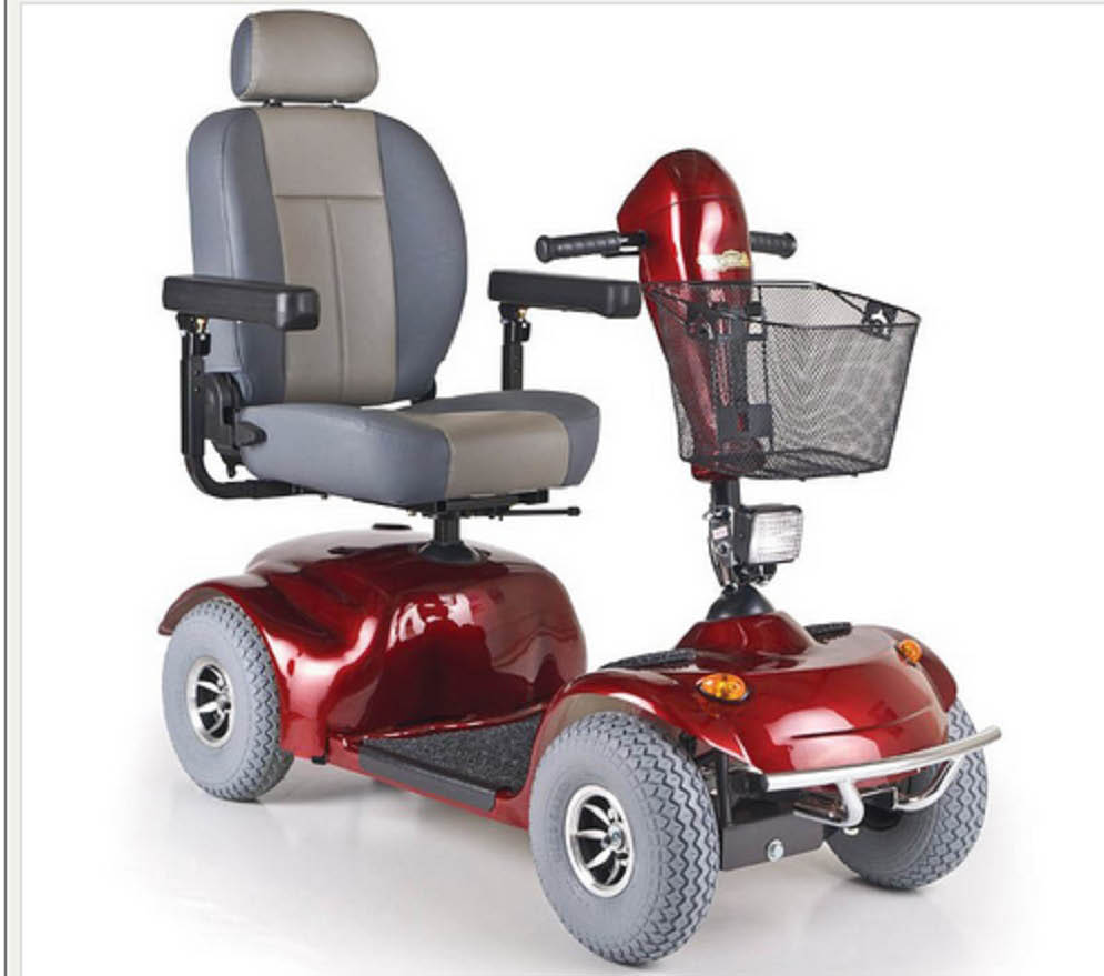 Picture of scooter at Discover my mobility in Macomb, MI