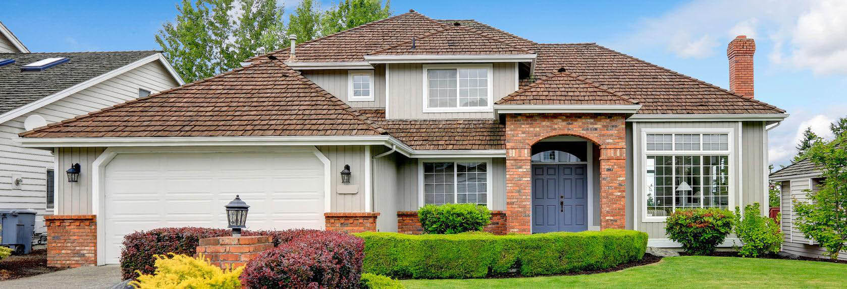 Divine Remodeling can replace your old roof to upgrade your home banner