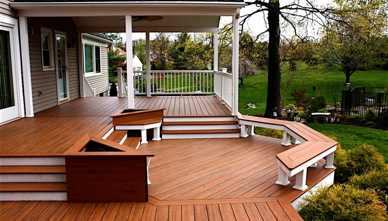 Deck paint, deck staining, near Marietta