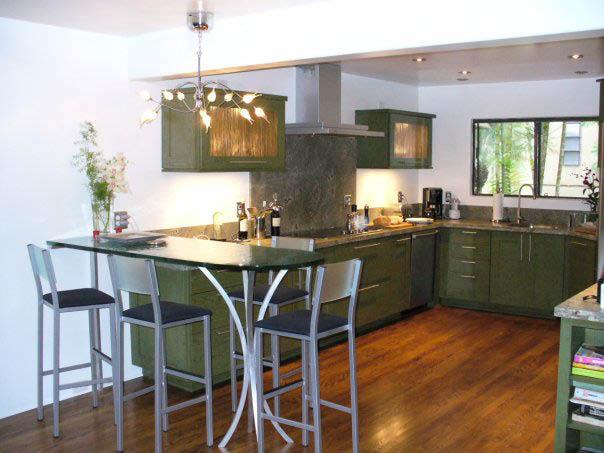 Kitchen remodel, new flooring
