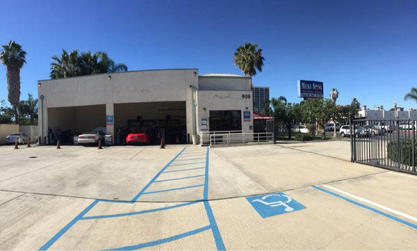 Our smog check station can handle three vehicles at our Costa Mesa Location