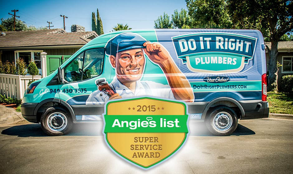 Our Do It Right van can come to your southern California home