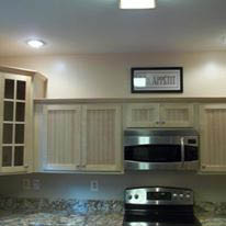 Kitchen & Cabinet Restyling can to performed on countertops, too
