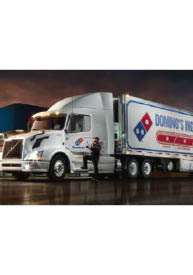 cdl, truck driver, employment, dominos