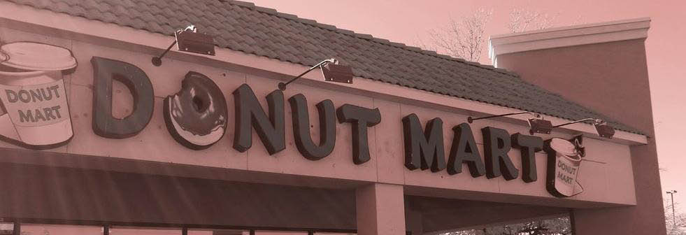 Donut Mart in Albuquerque, NM banner