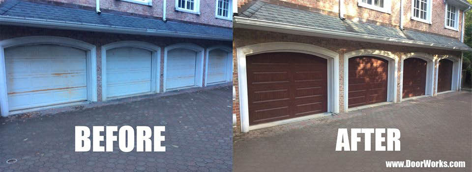 before & after new jersey door works service