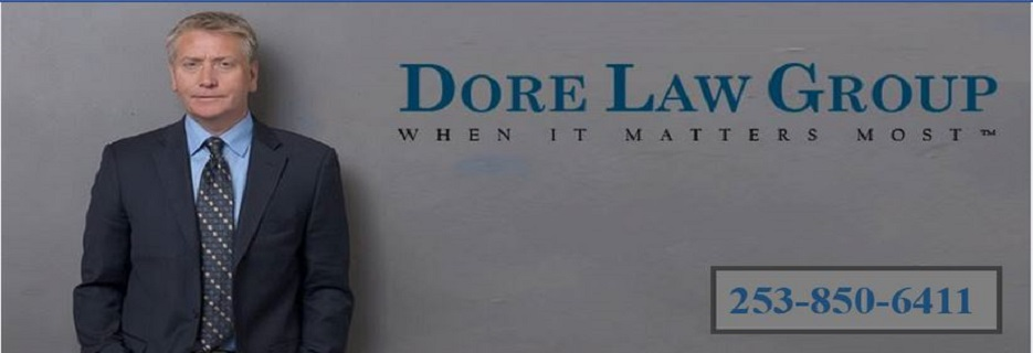 Dore Law Group in Kent, WA banner