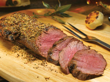 Smoked Cocoa and Coffee Chateaubriand