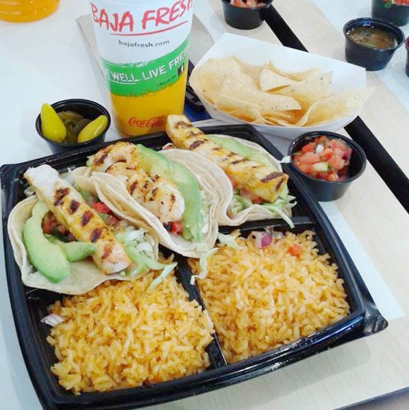 Taco's and Taquitos with double rice