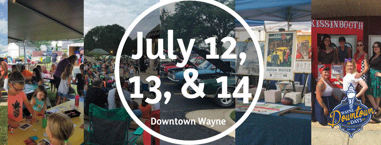 A lot of activities and events at Wayne's Downtown Days in Wayne, MI