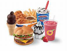 Ice Cream Cones, Sundae's, Shakes, Blizzards or Hot Burgers and Chicken Tenders - DQ has it all