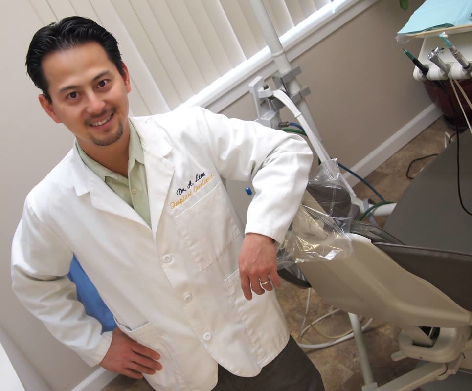 The dentist office of Dr. Anthony Lieu of Blue Apple Dental Group in Rohnert Park, CA