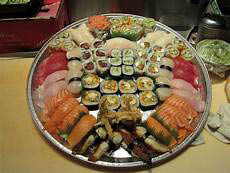 sushi platter; catering in Lombard