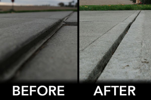Concrete sealer, driveway repair near Papillion