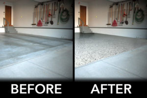 before and after driveway