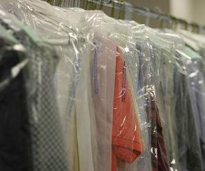 Dry cleaning pressing and laundering services