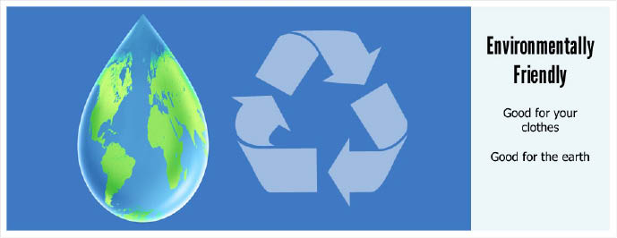 Dry Cleaning Depot participates in Environmental GO GREEN.