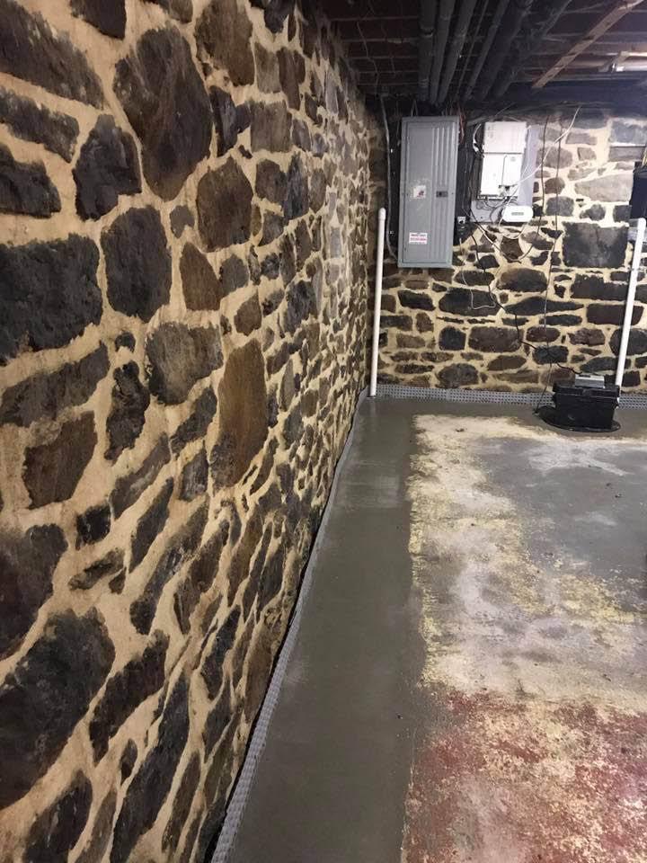 dry tech waterproofing, waterproofing, dry tech, basement waterproofing, repair, mold, valpak