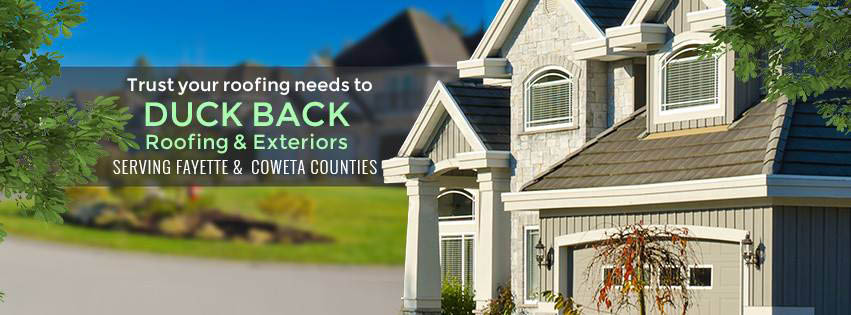 professional roofing company duck back roofing & exteriors coweta county ga