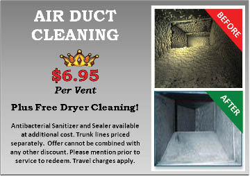 air duct cleaning; allergen reduction; vent cleaning by Budget King Carpet Cleaning in Chicagoland, IL